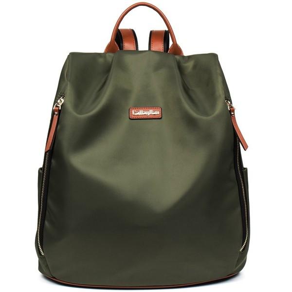 Canvas Travel Water Resistant Lightweight School Backpack