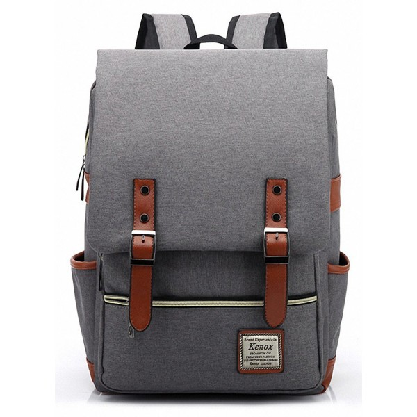 Kenox Vintage Backpack College 15 inch