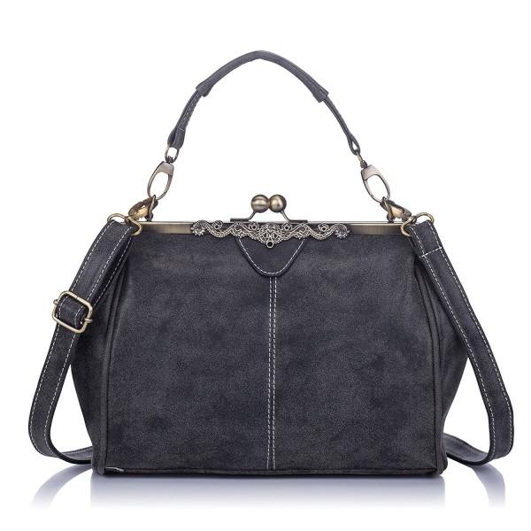 3f5eb513b72d Big Mango Fashion Lightweight Women's Top Handle Handbag Satchel Purse  Shoulder Tote Bag Crossbody Bag