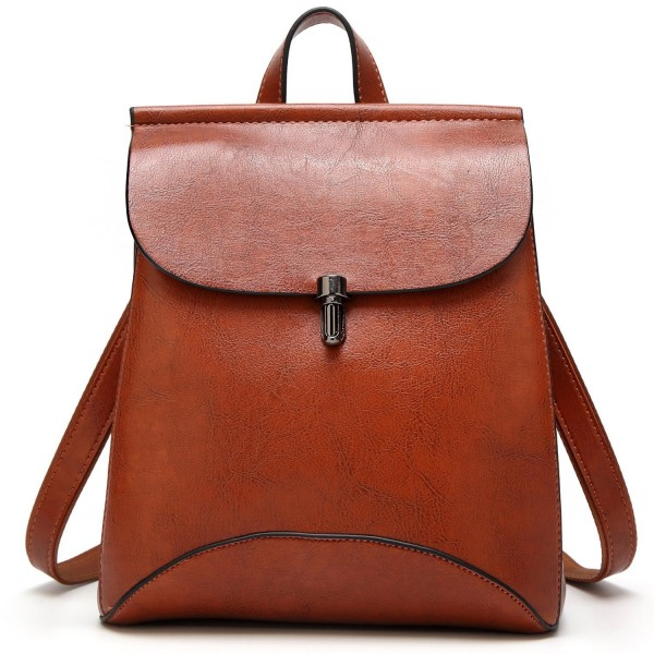 SiMYEER Womens Leather Backpack Shoulder