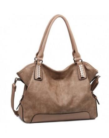 JOYSON Handbags Leather Top Handle Shoulder
