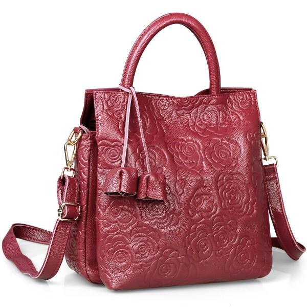 Hynes Victory Womens Large Tote Top Handle Shoulder Handbag Crossbody Bags for Ladies