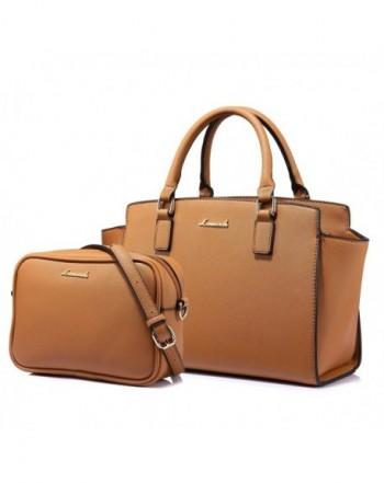 Women Leather Purse Retro Fashion Top Handle Handbag Crossbody Shoulder Bag for Ladies