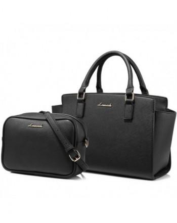 a18b880dc772 Women Leather Purse Retro Fashion Top Handle Handbag Crossbody Shoulder Bag  for Ladies