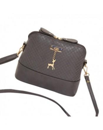 Vbiger Leather Handbags For Women Large Capacity Zipper Tote Bag
