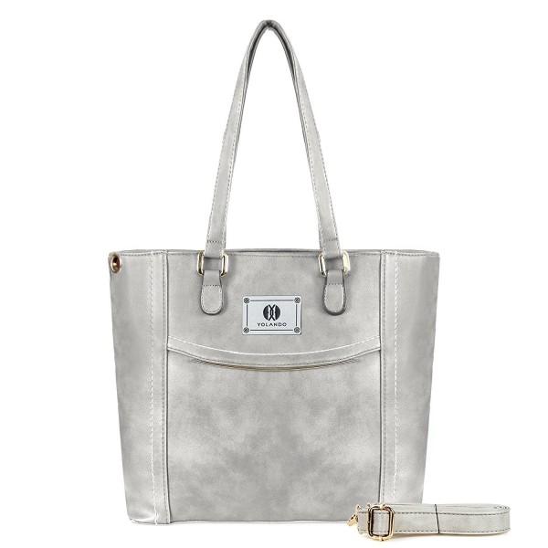 YOLANDO Handbags Leather Shoulder Satchel