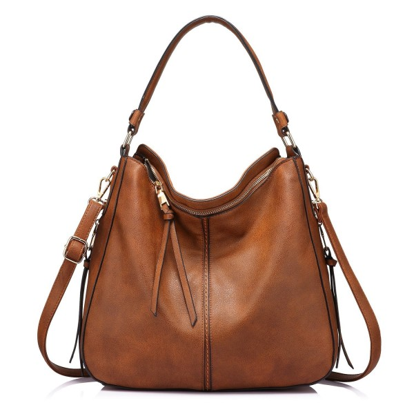 Hobo Bag Bucket Purse Faux Leather