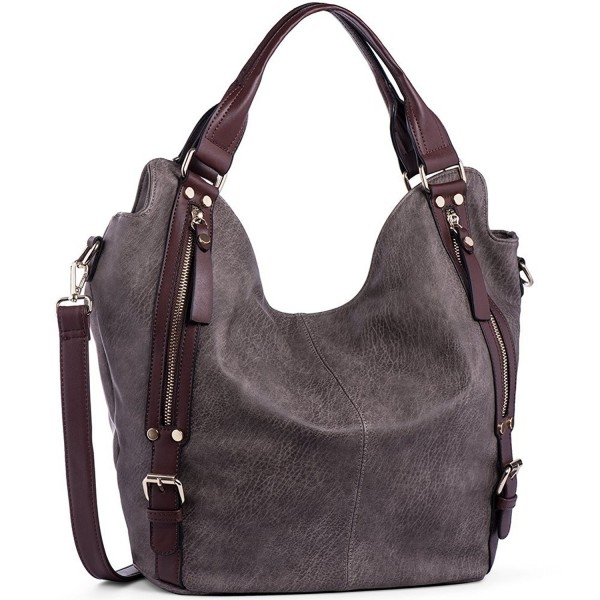 JOYSON Handbags Shoulder Leather Capacity