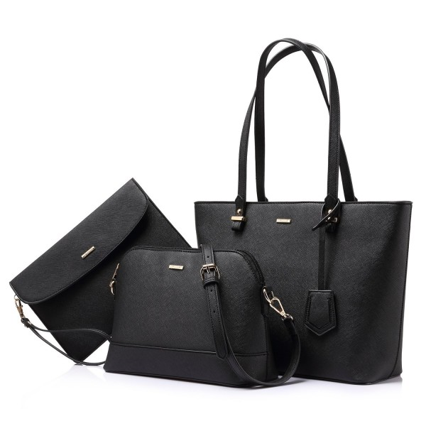 eca409a4436f Handbags for Women Shoulder Bags Tote Satchel Hobo 3pcs Purse Set ...