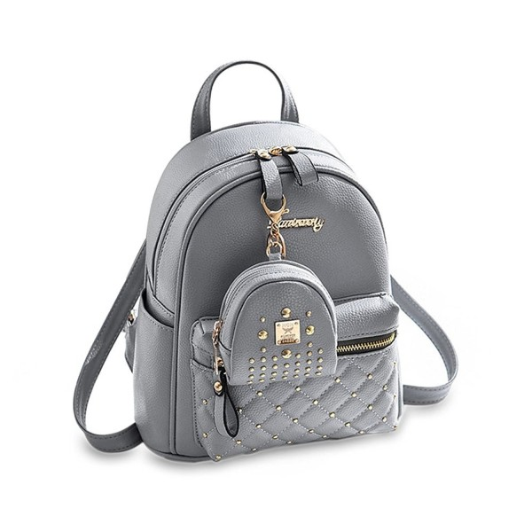 Small Backpack Casual Daypacks Leather