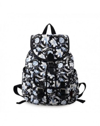 DGY Canvas Printed Backpack Rucksack