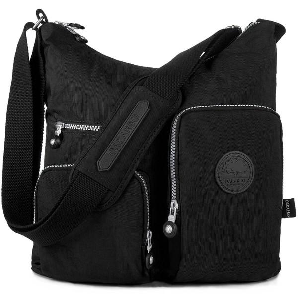 Nylon Crossbody Multi Pocket Travel Shoulder