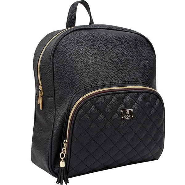 Copi Womens feminine Quilted Backpacks