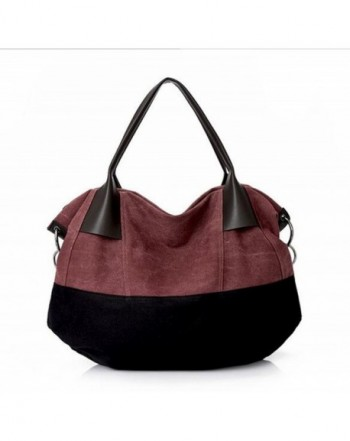 Fansela Canvas Travel Handbag Multicolored