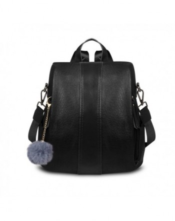 Fashion Backpack ZZSY Convertible Shoulder