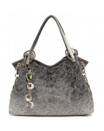 8ede1011de64 Womens Fashion Designer Pu Leather Bag Top Handle Tote Purse ...