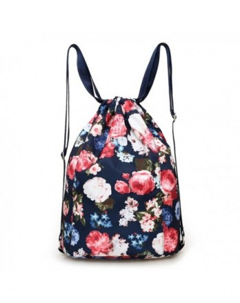 Drawstring Gymbag Backpack Travel Gymsack