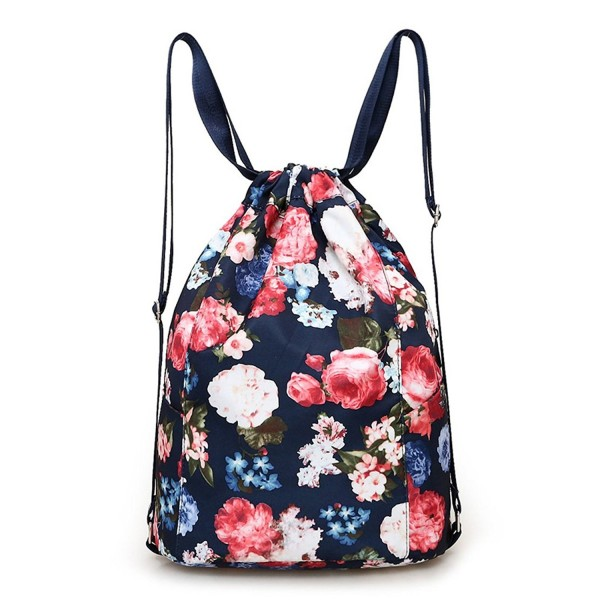 Drawstring Gymbag Backpack Travel Gymsack