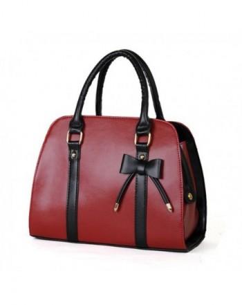 Qianle Leather Messenger Shoulder Handbag