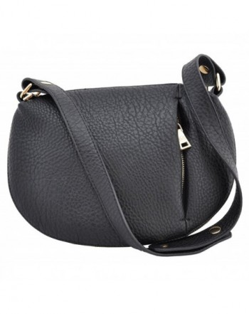 Banker Fashion Expandable Circular Handbag