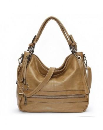Mlife Front Zipper Handbags Shoulder