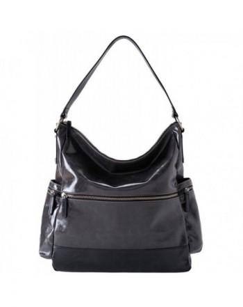 Shiraleah Handbags Harper Vegan Graphite