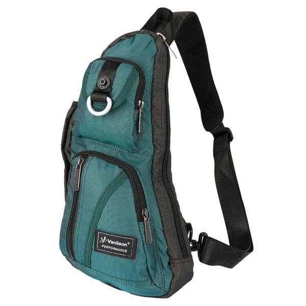 Sling Chest Vanlison Backpack Shoulder