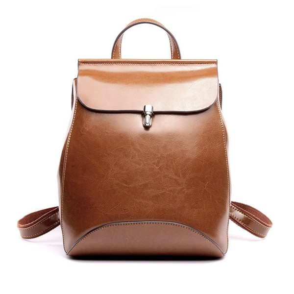 Zicac Womens Leather Backpack Daypack