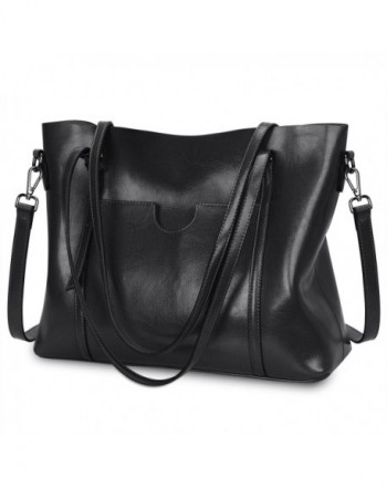S ZONE Genuine Leather Shoulder Capacity