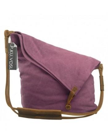 afccea2d9cc5 Canvas Crossbody P KU VDSL Casual Large. Women s Satchel Bags
