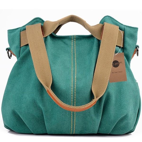 Z joyee Vintage Shoulder Shopper Handbag