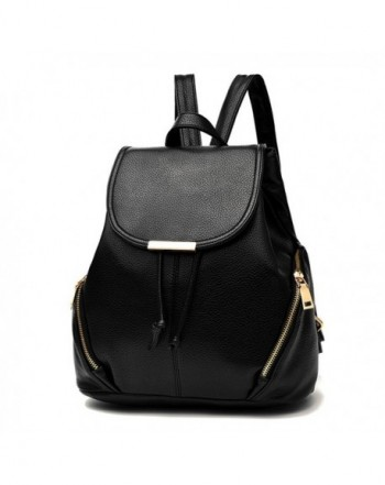 Z joyee Fashion Leather Backpack Shoulder