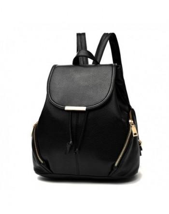 Casual Purse Fashion School Leather Backpack Shoulder Bag Mini ... 265f1bedd4a2d