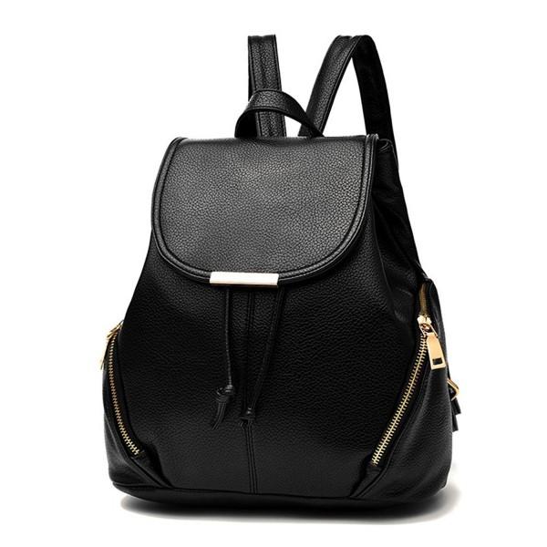 Z joyee Fashion Leather Backpack Shoulder