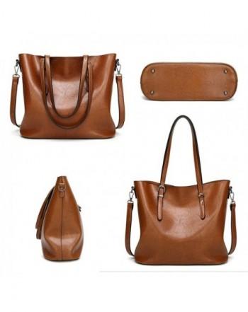 fde5a124c608 Women Top Handle Satchel Handbags Shoulder Bags Tote Purse Messenger Bag -  Black - CC186XUUSO0