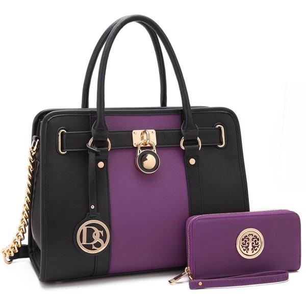 Dasein Designer Satchel Handbags Shoulder