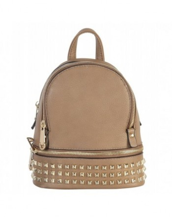 Rimen Leather Studded Backpack BB 3851
