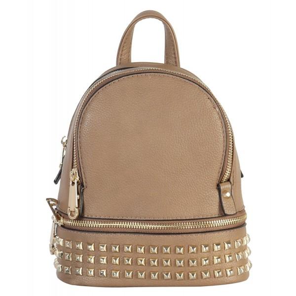 Rimen Leather Studded Backpack BB 3851
