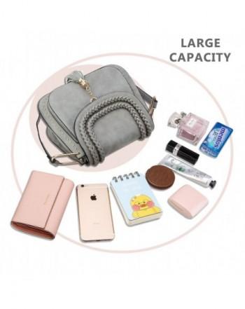 Tom Clovers Crossbody Bags for Women Vintage Tassel Saddle Shoulder Bag Sling Bag Shopping Travel Satchel