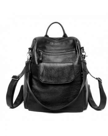 Leather Backpack Wraifa Handbag Shoulder
