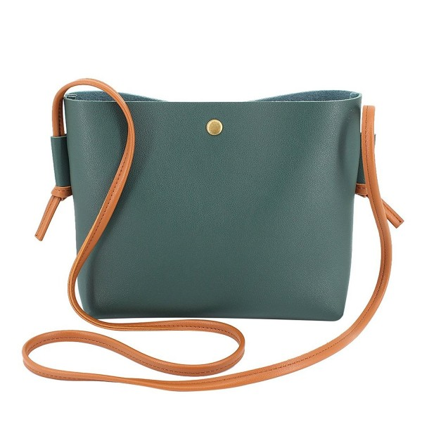 e3abd3735 ... Bag Small Satchel Handbag - Green - CZ12NT6KSO2. Candice Leather  Crossbody Shoulder Satchel