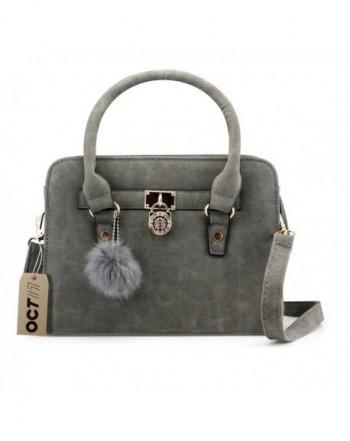 Leather Shoulder Satchel Fashion Handbag