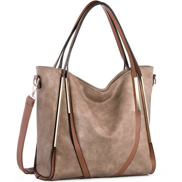 JOYSON Handbags Top Handle Leather Shoulder