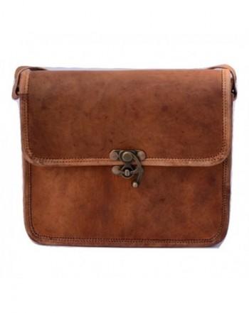 Leather Cross body Shoulder Satchel Handbag