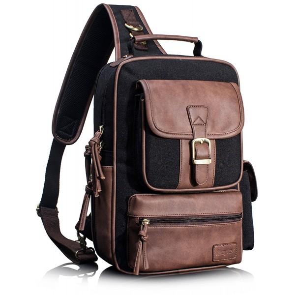 Leaper Outdoor Crossbody Shoulder Backpack