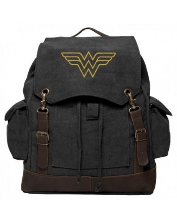 Wonder Symbol Rucksack Backpack Leather