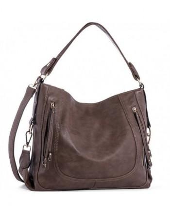 UTAKE Shoulder Leather Handbags Top Handle