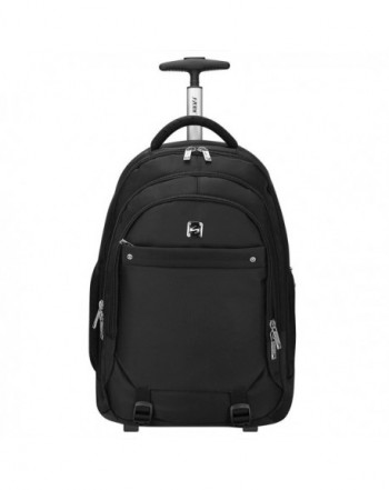 S ZONE Wheeled Backpack Rolling Luggage
