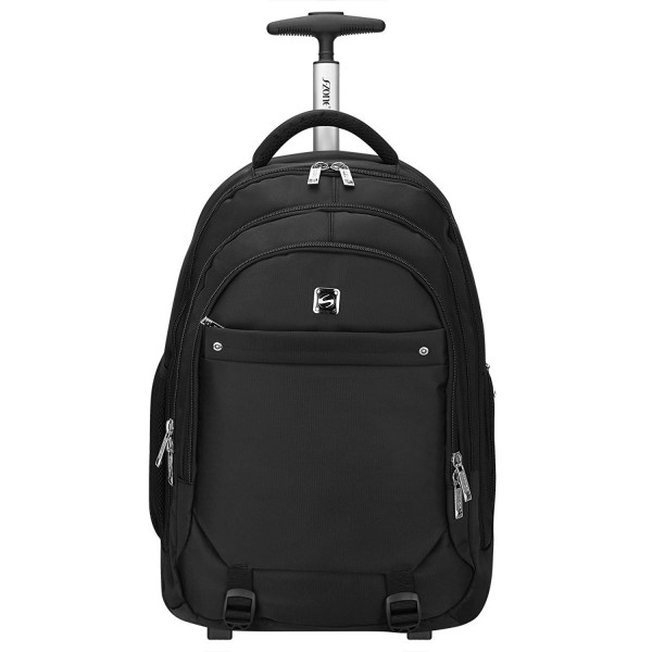 S ZONE Wheeled Backpack Rolling Luggage