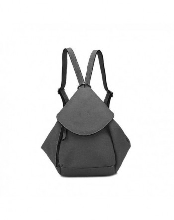 SIMPLE POCKET Leather Shoulder Backpack